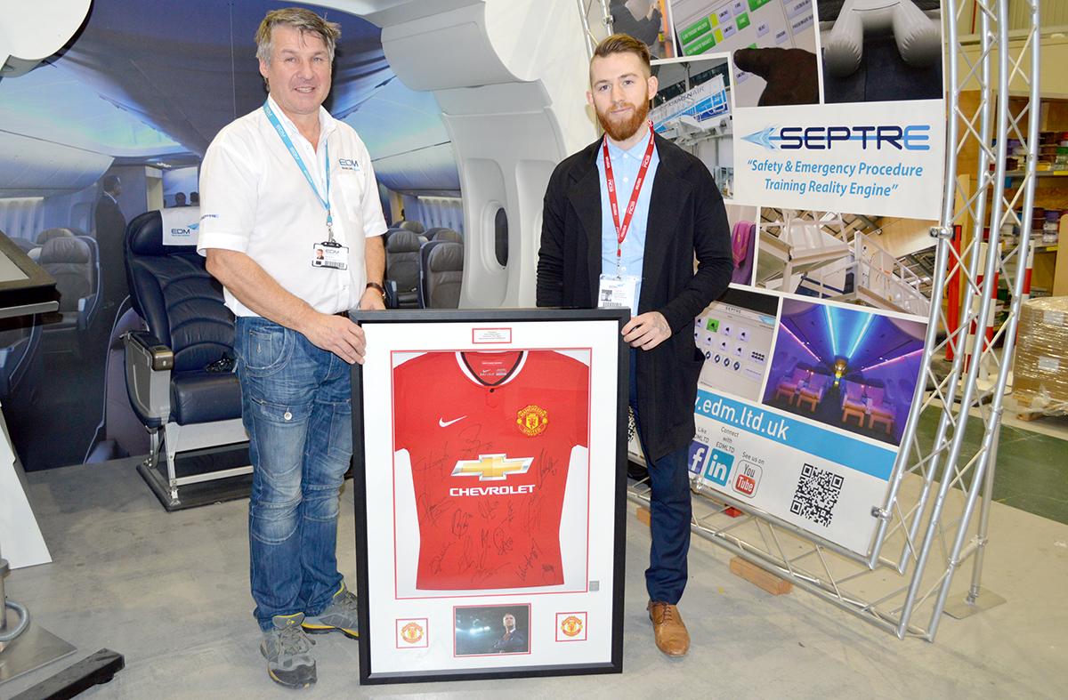 Man Utd shirt auction