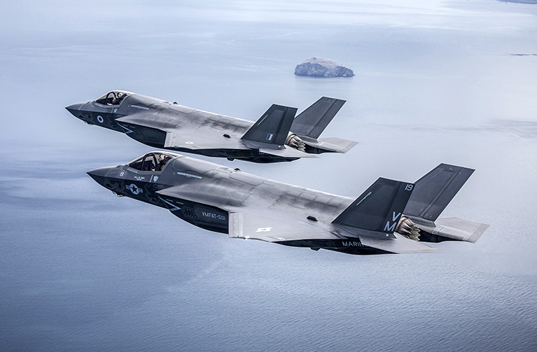 New F35B Lightning II