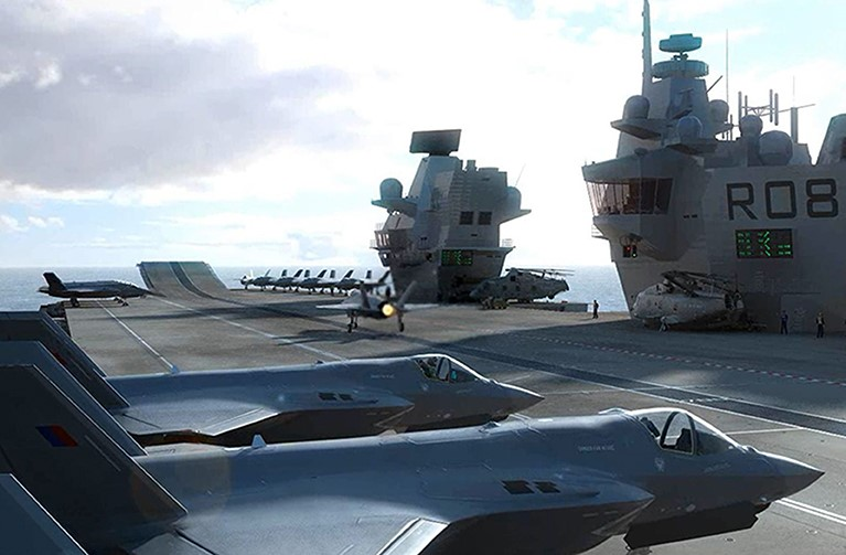 EDM_BAE F-35B Simulator