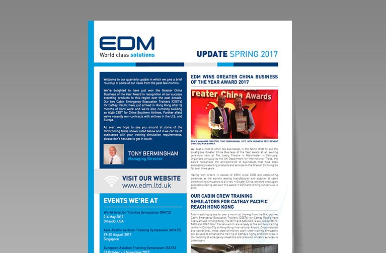 EDM LTD SPRING UPDATE