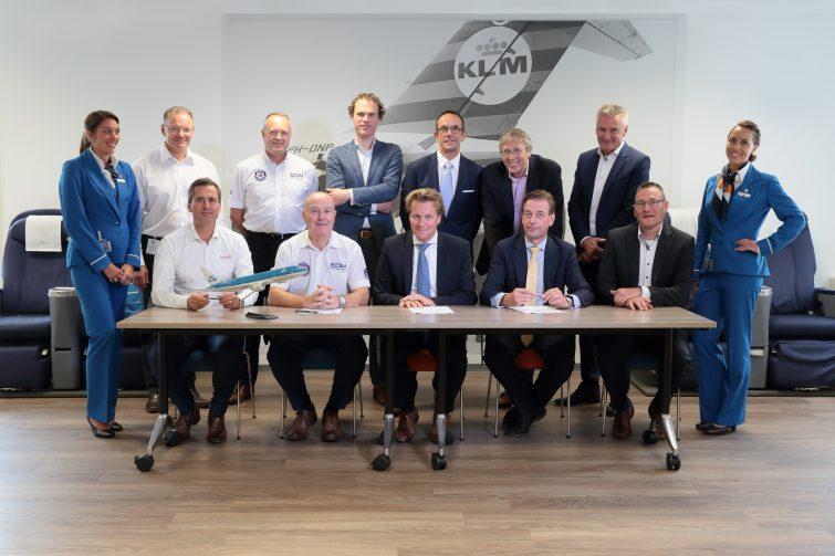 EDM LTD SIGN KLM PROJECT