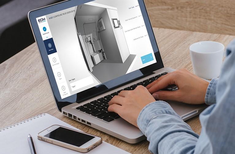 EDM's app for designing Door Trainers