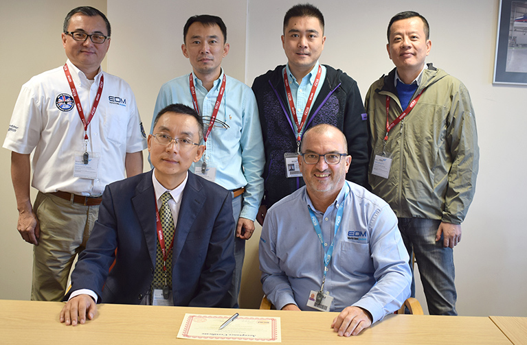 EDM LTD CHINA EASTERN VISIT