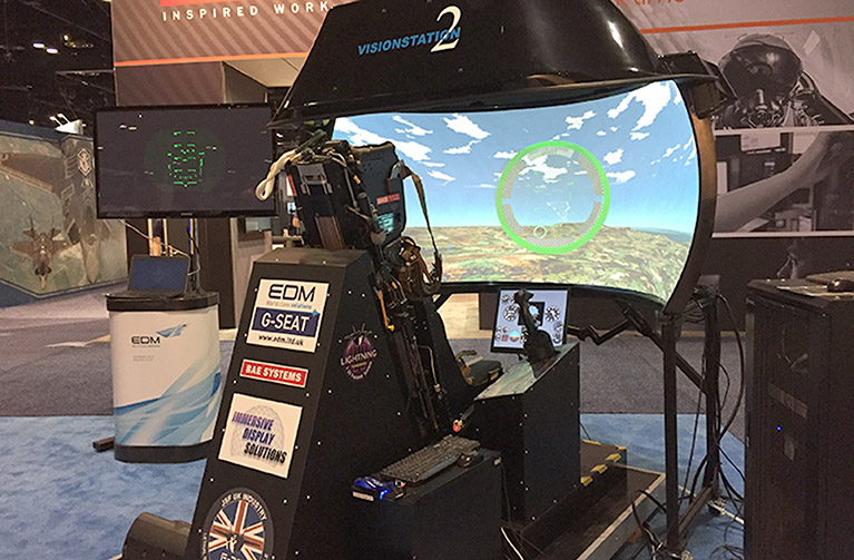 TRAINER AT IITSEC EXHIBITON EDM LTD