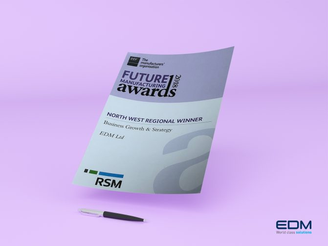 EDM LTD FUTURE AWARD